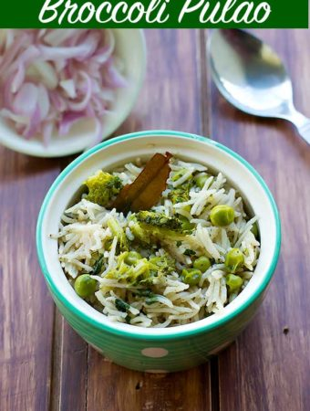 Broccoli Pulao Recipe – Broccoli Rice Recipe