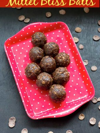 Millet Bliss Balls Recipe