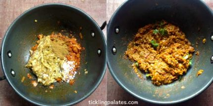 baingan bharta recipe step4