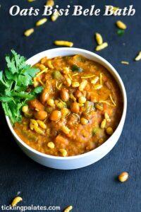 Oats Bisi Bele Bath Recipe – Indian Oats Recipes