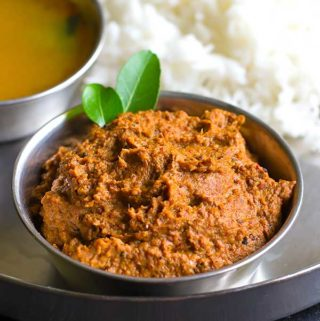 vazhaipoo thogayal recipe