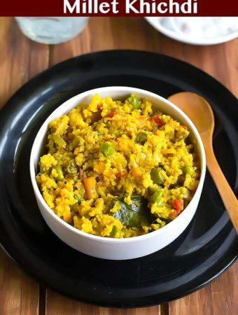 Millet Khichdi Recipe – Foxtail Millet Khichadi