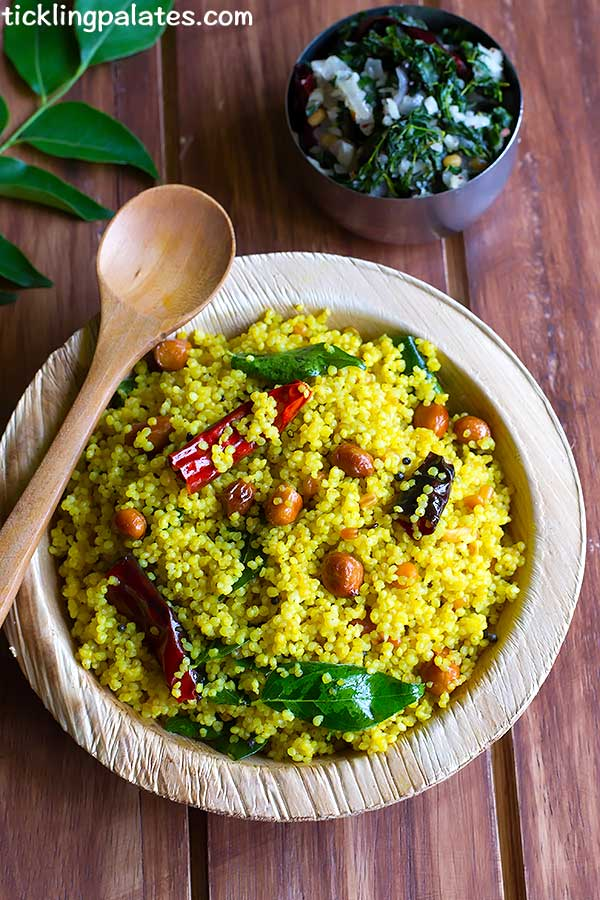 millet tamarind rice recipe