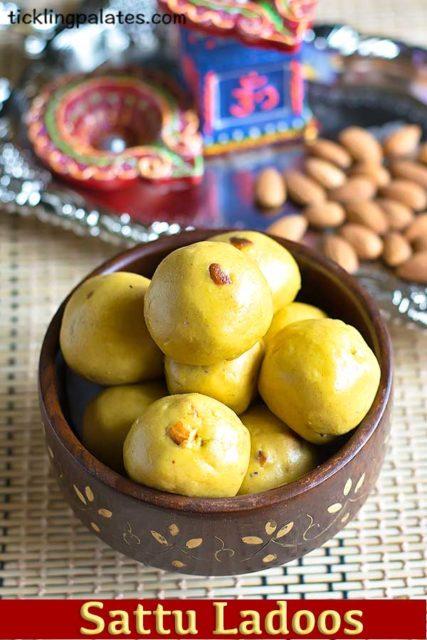 Sattu Laddu Recipe