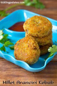 Organic Millet Arancini Kebab Recipe – Millet Recipes