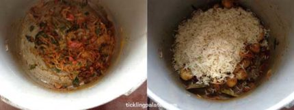 baby potato biryani recipe step5