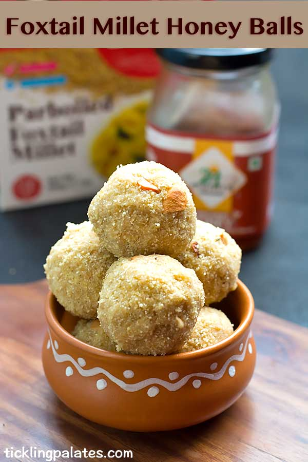 foxtail millet honey balls
