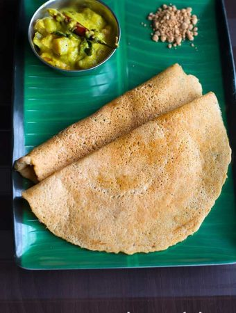 Organic Brown Rice Adai Recipe