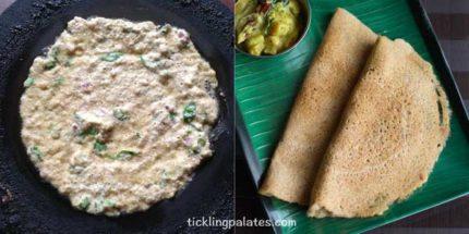 brown rice adai recipe step3