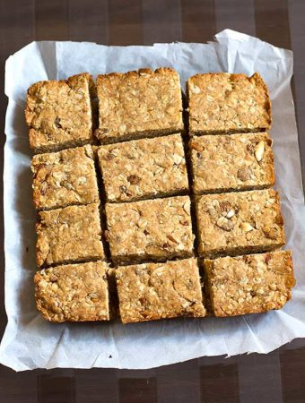 Organic Oatmeal Breakfast Bars Recipe