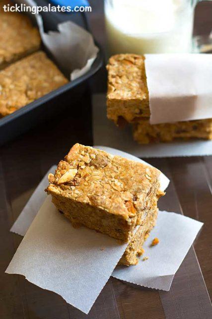 oats breakfast bars recipe