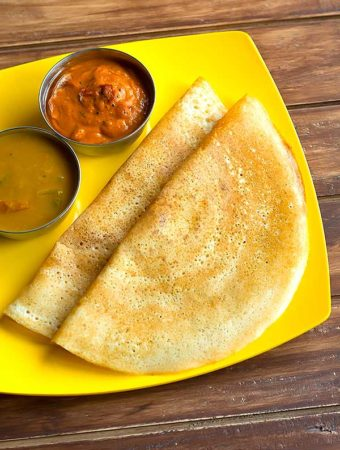 Brown Rice Dosa Recipe – How to make Dosa using Brown Rice