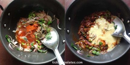 chilli parotta recipe step5