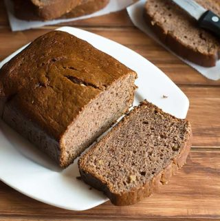 eggless blender banana bread recipe