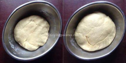 eggless butterflake herb loaf step1