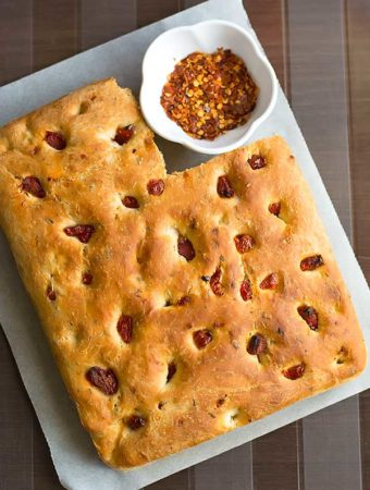 Sun Dried Tomato Focaccia Recipe