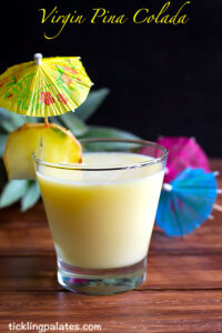 Virgin Pina Colada Recipe – Pina Colada Mocktail