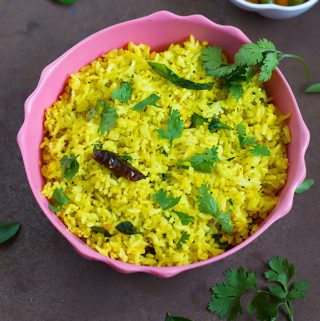 Mango Coconut Rice Recipe