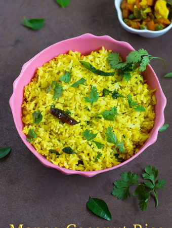 Mango Coconut Rice Recipe with Video
