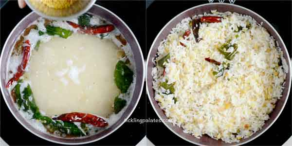 arisi upma recipe step3
