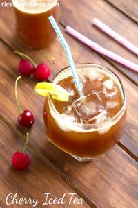 Cherry Iced Tea Recipe – Iced Tea Recipes