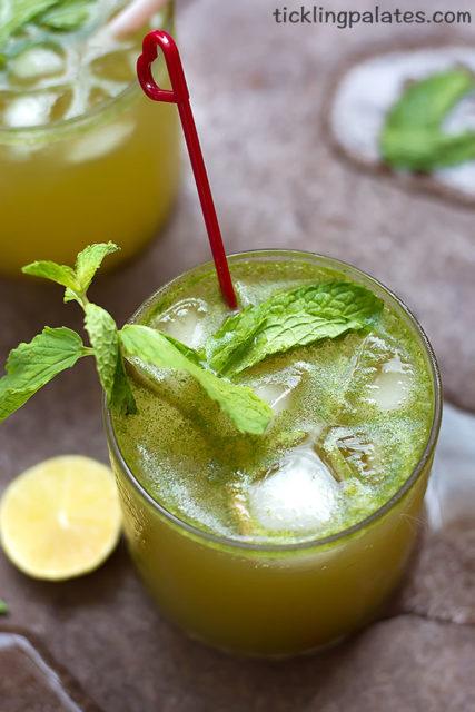 Mint Lemon Soda