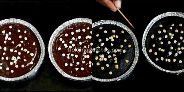 eggless ragi chocolate cake recipe step5