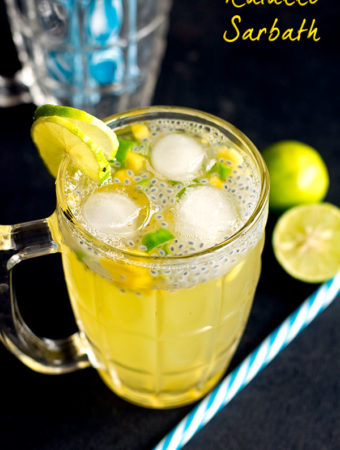 Kulukki Sarbath Recipe – Shaken Limeade or Lemonade