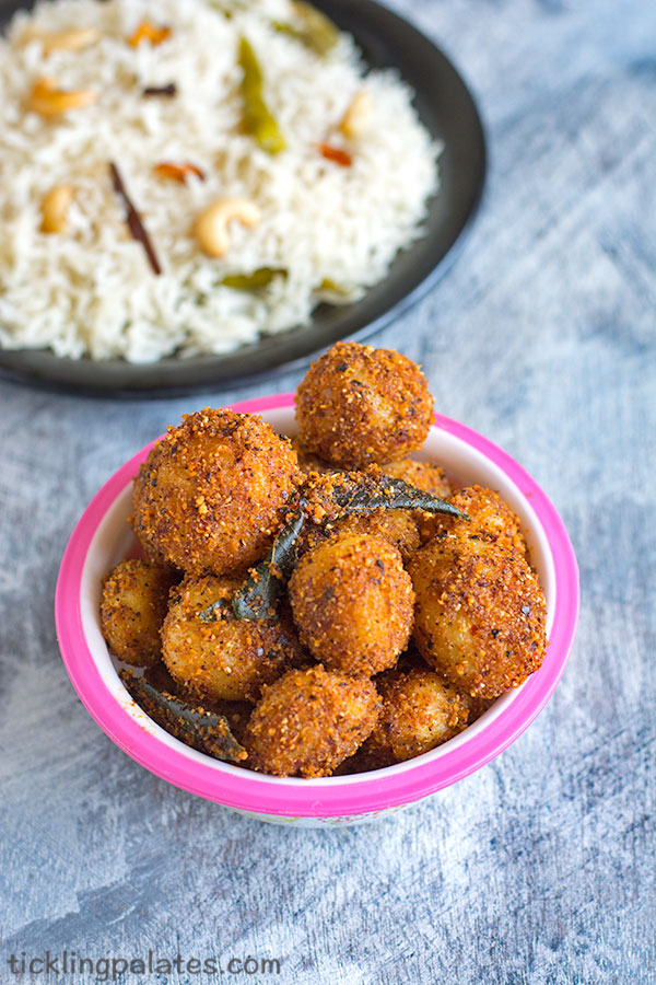 baby potato podi curry