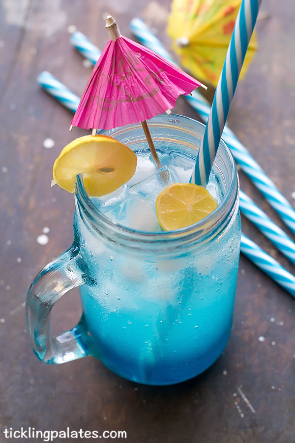 blue curacao mocktail recipe