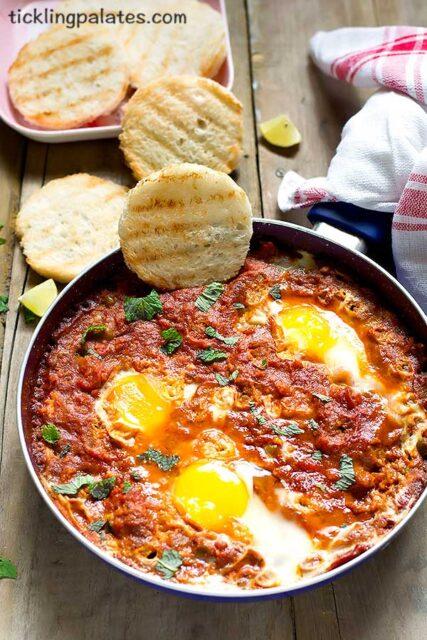 indian style shakshuka recipe
