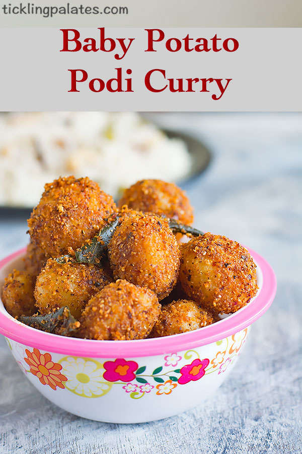 potato podi curry recipe
