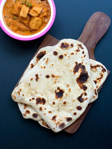 sourdough naan recipe