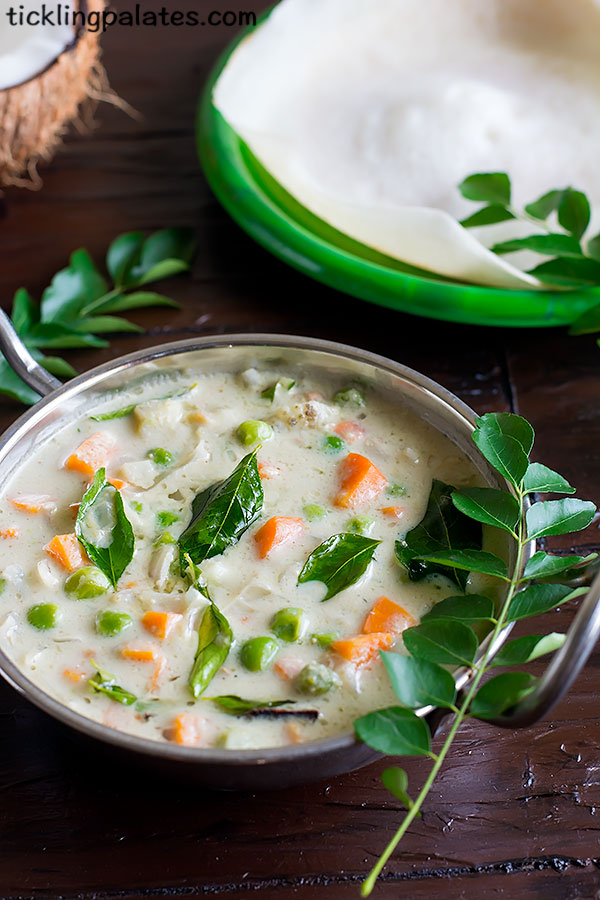 vegetable stew for appam