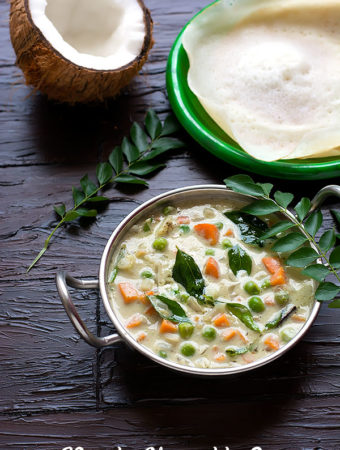 Vegetable Stew Recipe – Kerala Veg Stew For Appam