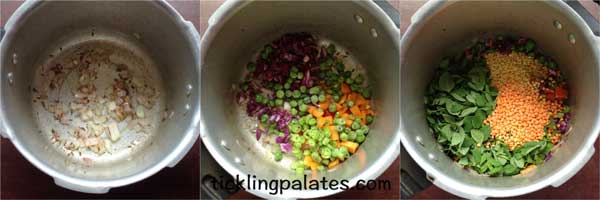 dal khichdi recipe step1