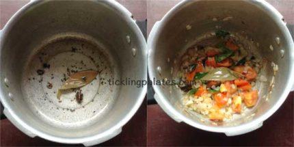double beans kurma recipe step2