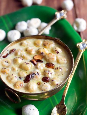 Phool Makhana Kheer Recipe – Makhane Ki Kheer