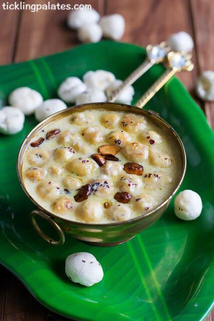 Phool Makhana Kheer Recipe