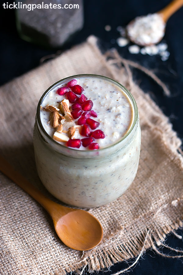 banana pb overnight oats