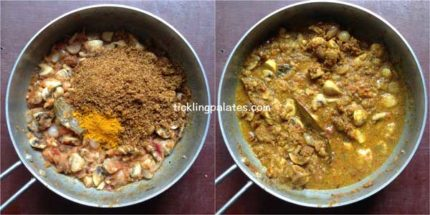 chettinad mushroom Masala recipe step6