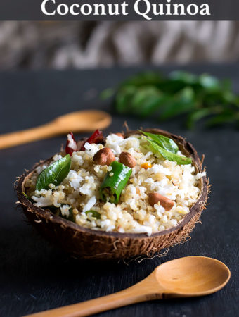 Coconut Quinoa Recipe – How to make Coconut Quinoa