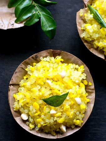 Javvarisi Sundal Recipe – Sabudana (sago) Sundal