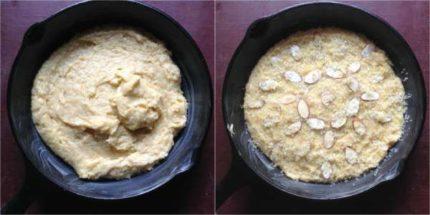 eggless orange cake step6