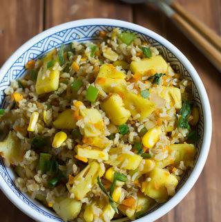 pineapple fried rice recipe