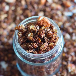 stovetop chocolate granola recipe