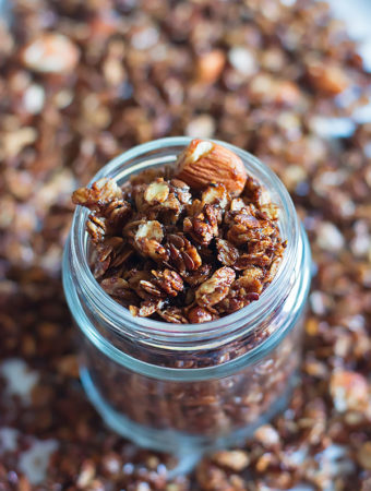 Stovetop Chocolate Granola Recipe