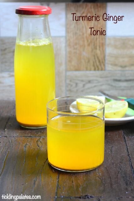 Turmeric ginger tonic recipe