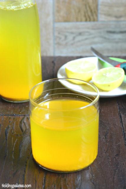 turmeric ginger shots recipe
