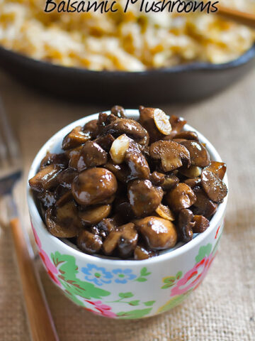 balsamic mushrooms recipe